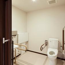多目的トイレの写真